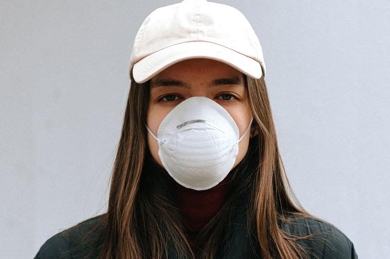 "Common mental health issues have been reported by people in lockdown, quarantine and/or isolation across the world. <strong>Photo</strong> <a href=""https://www.pexels.com/photo/woman-wearing-white-face-mask-3987215/"" target=""_blank"">Pexels</a>."