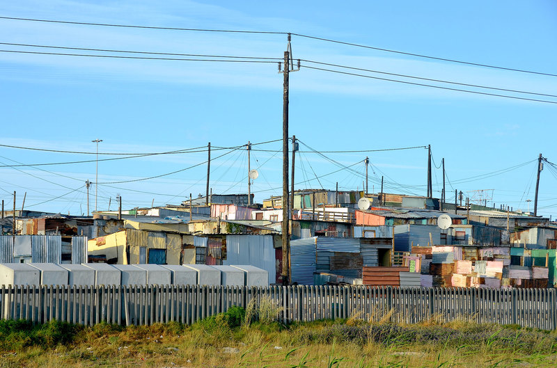 "About 10 years ago, Khayelitsha represented the largest concentration of poverty in the highly unequal city of Cape Town. <strong>Photo</strong> <a href=""https://commons.wikimedia.org/wiki/File:Khayelitsha_at_N2_road,_Cape_Town_(2015).jpg"" target=""_blank"">Wikimedia Commons</a>."