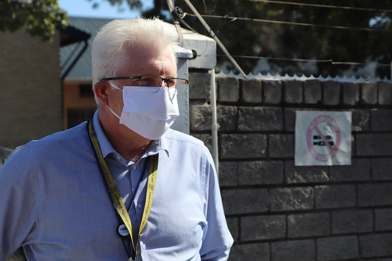 According to GSB senior lecturer Athol Williams, Western Cape Premier, Alan Winde, has demonstrated the kind of leadership that is necessary during the pandemic and for life thereafter. <b>Photo</b> Larissa Venter.