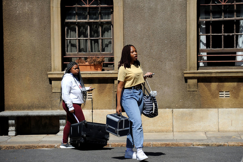 Students' return to campus is voluntary and there would be no penalties for not returning during the height of the COVID-19 pandemic, said UCT's COO, Dr Reno Morar. <b>Photo</b> Lerato Maduna.