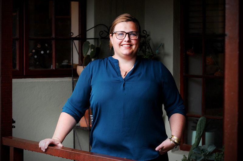 Novel research into using renewable energy in off-grid informal settlements in South Africa has won UCT's Dr Jiska de Groot (pictured) and her international co-lead Dr Federico Caprotti a £500 000 Newton Prize to continue their sustainability work.