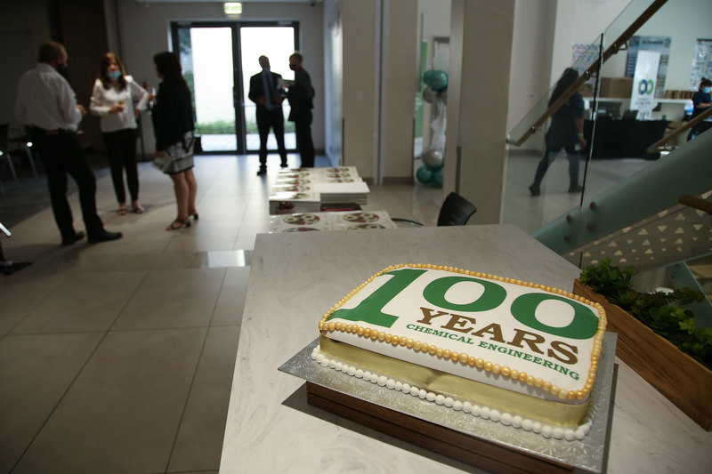 Staff, students and alumni gathered to celebrate UCT's Department of Chemical Engineering's 100th anniversary.