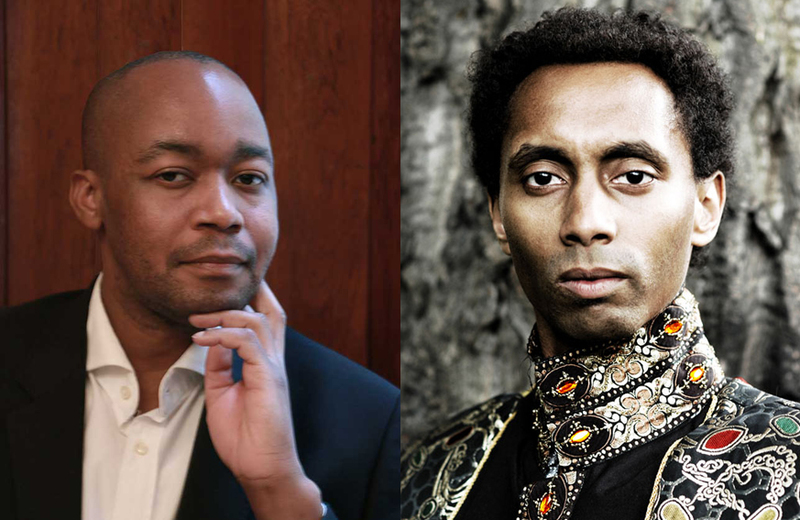 Composers Bongani Ndodana-Breen (left) and Tunde Jegede join forces for what promises to be a unique performance.