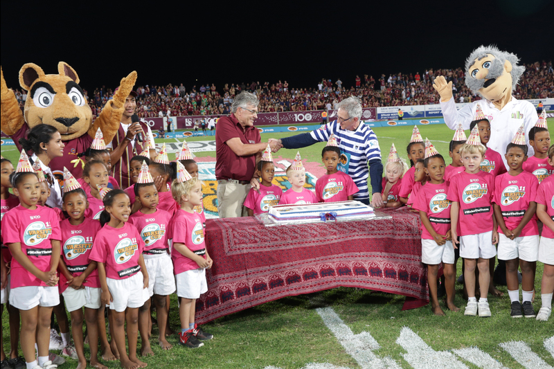 The UCT Ikeys met SU's Maties for the 106th time in a match that marked the centenary of both institutions.