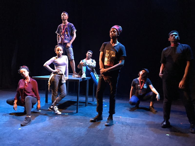 The student-led production The Fall is winning big at the Edinburgh Festival Fringe.