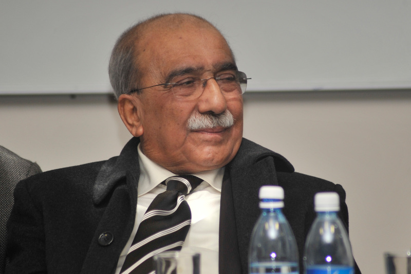 Professor Kader Asmal delivered his address titled National Identity and Cultural Diversity at the fifth annual JD Baqwa Memorial lecture on 5 August.