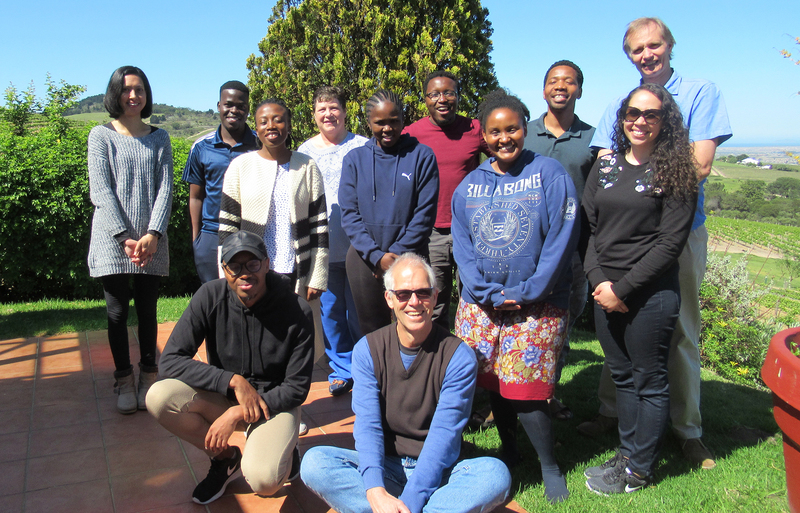 The NGAP cohort at the Zevenwacht Wine Estate.