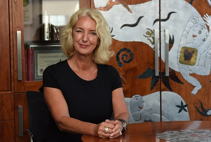 Professor Karen Sliwa, director of the Hatter Institute for Cardiovascular Research in Africa at UCT, and president-elect of the World Heart Federation.