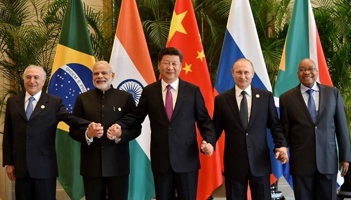 BRICS leaders meet on the sidelines of G20 in China.