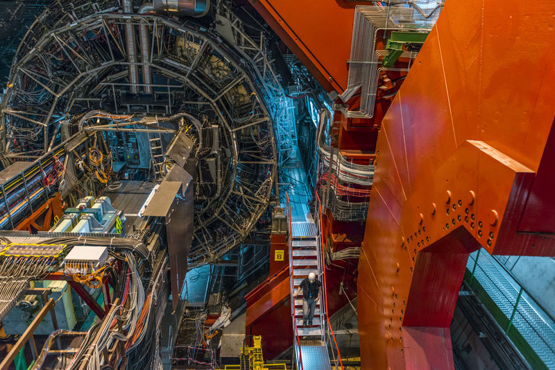 The ALICE experiment, pictured here, is one of the detectors of the Large Hadron Collider at CERN. UCT researchers along with other scientists from South Africa – and the rest of the world – will be involved in upgrading this equipment.