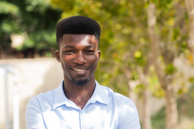 Elkanah Babatunde, currently pursuing his PhD in the Faculty of Law, has been selected UCT's Fox Fellow for 2018/19.