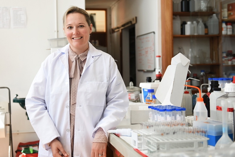 Dr Sarah Fawcett has been elected to the South African Young Academy of Science.