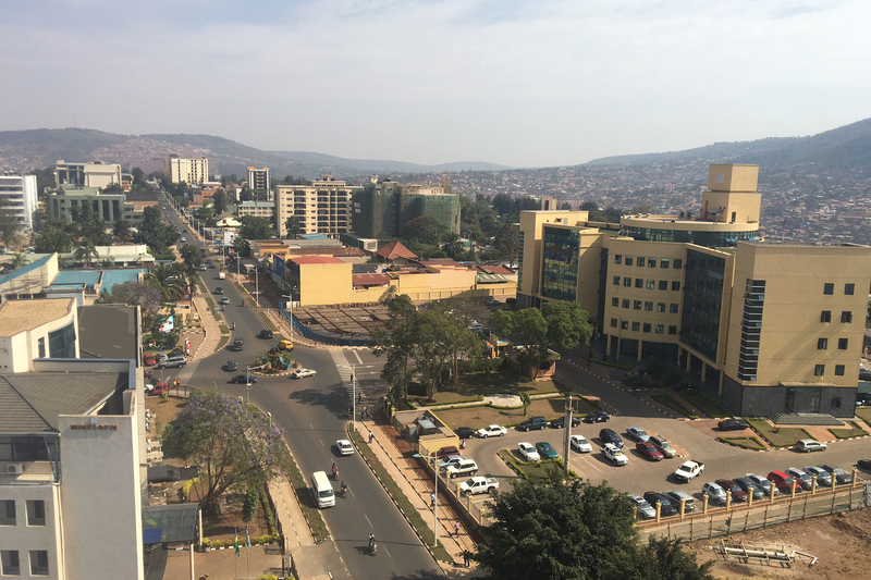 UCT Professor Tomà Berlanda spent four years in Kigali, Rwanda (pictured), where he brought a built-environment perspective to urban growth.