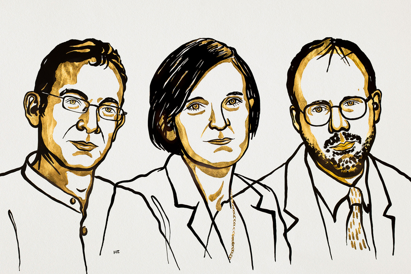 Abhijit Banerjee, Esther Duflo and Michael Kremer won the 2019 Nobel Prize in Economic Sciences.