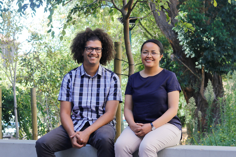 Two young UCT scientists, Dr Izidine Pinto (left) and Dr Rondrotiana Barimalala, are committed to immersing themselves in the latest climate science as they tackle the task of co-authoring the next major climate report for the Intergovernmental Panel on Climate Change (IPCC).