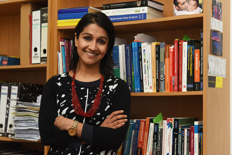 Ameeta Jaga, an associate professor in organisation psychology at UCT, is working to understand how people manage family and work demands.