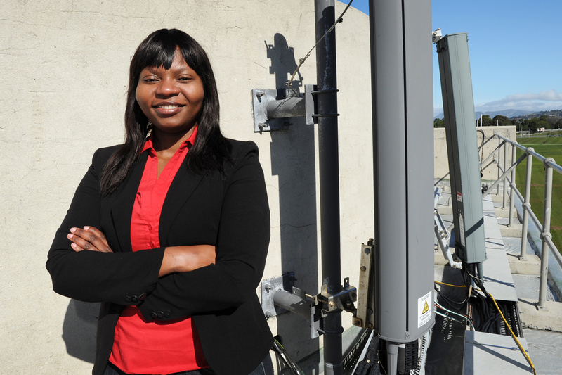 Dr Joyce Mwangama, a lecturer in the UCT Department of Electrical Engineering, is leading the development of South Africa's first university-based 5G testbed facility.