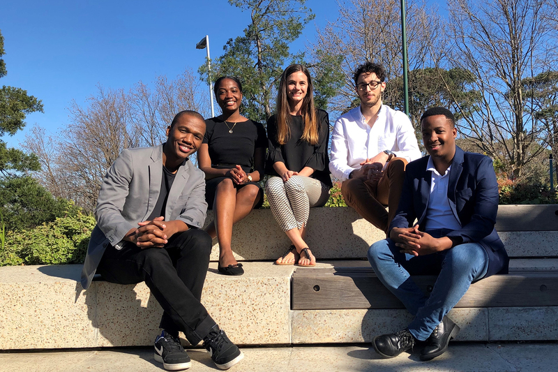 Postgraduate researchers Mohapi Mohlamonyane, Ines Moussi, Lindi-Jane Janse van Rensburg, Dimitri Pavlou and Siphamandla Vilakazi have challenged South Africa's financial services to be more innovative in their approach to the creation of shared value.