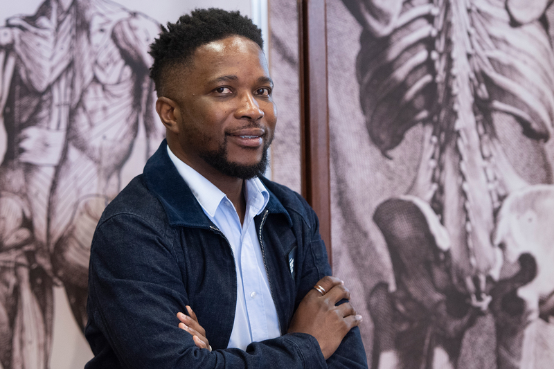 Dr Tinashe Mutsvangwa, an expert in medical imaging in UCT's Division of Biomedical Engineering, is working on low-cost solutions for medical imaging and image analysis in low-resource settings.
