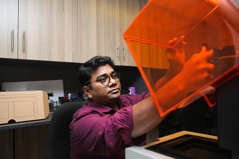 Associate Professor Sudesh Sivarasu is leading a team of biomedical engineers in the effort to produce low-cost innovations aimed at turning the tide against COVID-19.