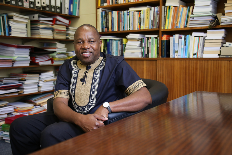 Professor Maano Ramutsindela, UCT's Dean of Science and co-editor of Africa and the Sustainable Development Goals.