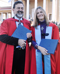 Prof Nigel Penn and Prof Pippa Skotnes