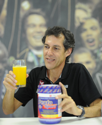 Assoc Prof Andrew Bosch and PeptoSport