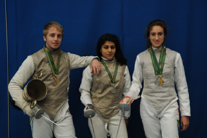 UCT Fencing team
