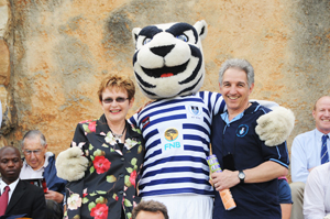 Western Cape premier, Helen Zille, and UCT vice-chancellor, Dr Max Price support Ikeys