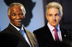 Mr Thabo Mbeki and Dr Max Price