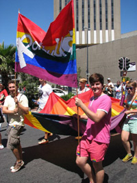 RainbowUCT students