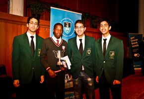 UCT Mathematics Competition Prize-Giving on 7 June