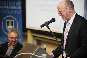 Science and Technology Minister Derek Hanekom