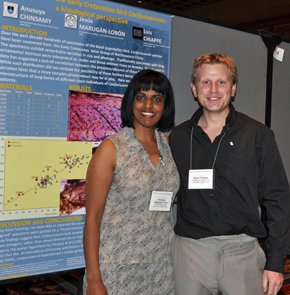 Prof Anusuya Chinsamy-Turan and Dr Daniel Thomas