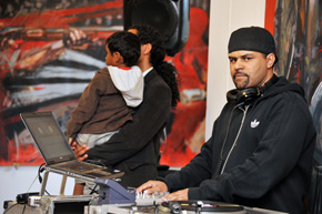 DJ Eazy at Festival of Desire