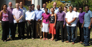 Health practitioners from around Africa