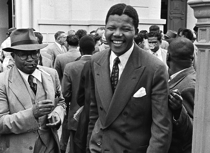 Madiba during the Treason Trial