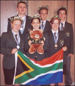 Olympic medals for SA maths team | UCT News