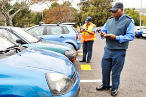Traffic officers