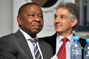 Dr Blade Nzimande and Dr Max Price