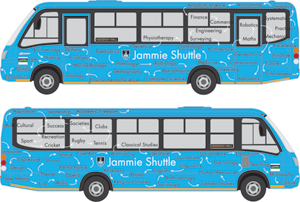 new design for the Jammie Shuttle