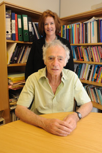 Profs Nan Yeld and Robert Segall