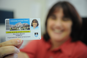The new-look staff and student card