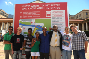 SRC members test for HIV