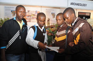 Learners at the UCT Open Day