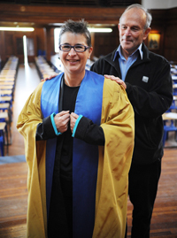 Prof Alison Lewis and Prof Francis Wilson