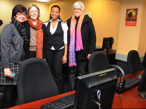 opening of the humanities language lab