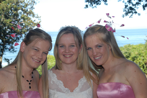 The Westcott sisters (from left) Nicky, Pam and Kim