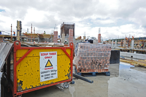 Construction sites are dangerous. Safety signs are there to protect you.