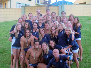 Winners: The water polo teams